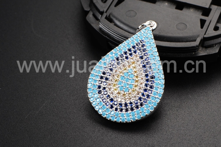 Sparkly Micro pave beaded Pendant drop micro pave pendant beaded Boho style pendant wholesale