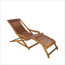 High quality best selling eco friendly Wooden Relax Chair with footrest from Viet Nam
