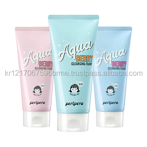 [PERIPERA] Aqua Berry Cleansing Foam - 120ml