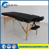 Brand New Portable Wooden Massage Table with 6cm Foam Sponge-AMC06