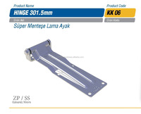 Refrigerated Truck Side Door Hinge KK 06 / 301.5mm , Truck and Refrigerated Body Parts Accessories
