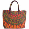 Latest Mandala Tote Bag Beach Printed Handmade Shopping Girls Tote New Arrival Vintage Cotton Hand Bags