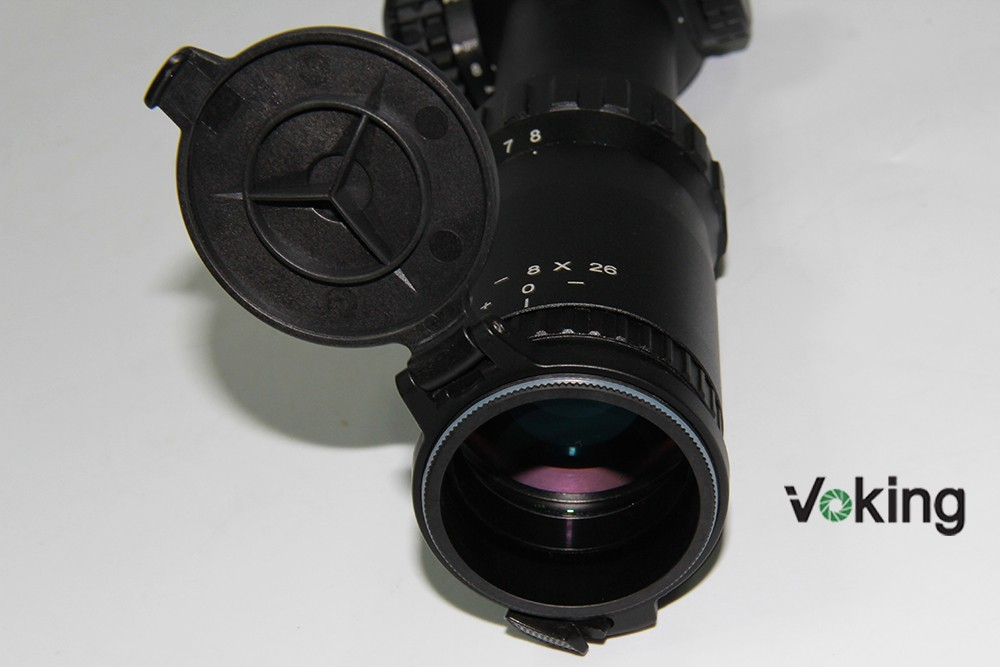Voking 1-8X26mm FFP rifle scope optic hunting accessory