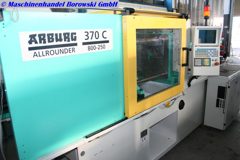 injection molding machine Arburg Allrounder 370C 800-250