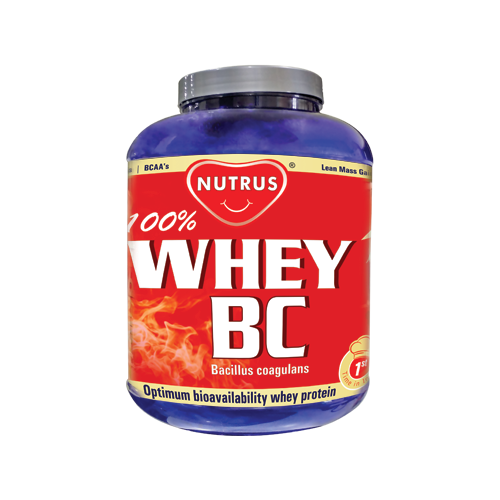 Whey BC - Whey Protein with Bacillus Coagulans Probiotic - 2.27KG