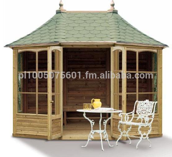 gartenhaus harrogate geschlossene gartenlaube pavilions produkt id 200000039023. Black Bedroom Furniture Sets. Home Design Ideas