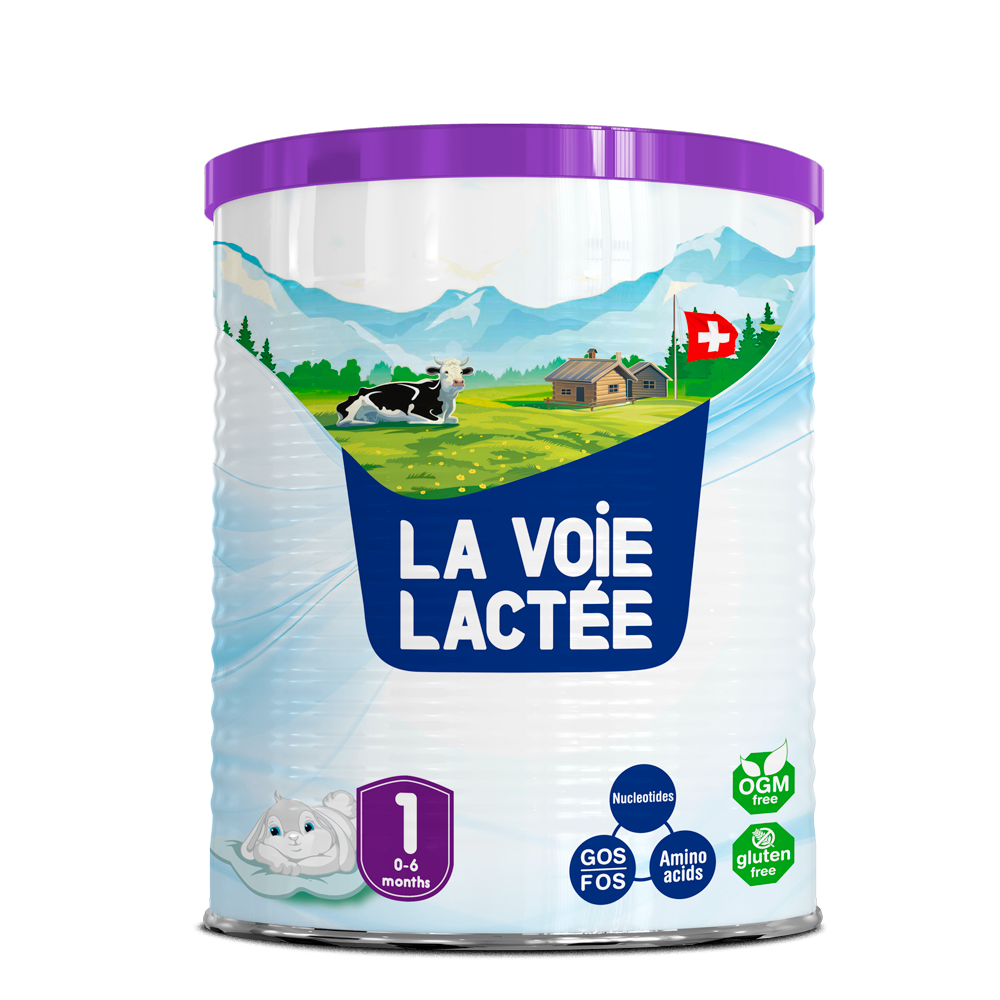 Premium milk powder - La Voie Lactee - stage 1