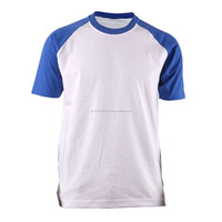 trendy wholesale short raglan sleeve t shirts/ gym men slim fitted comfortable short sleeve t shirt high quality