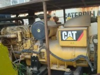 Used Caterpillar generator set C18, electric power generation