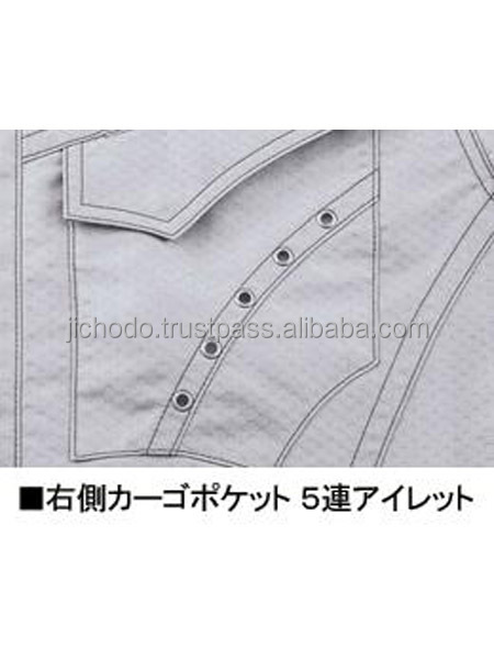 Honeycomb rip-stop / Double pleated cargo-pants. Made by Japan