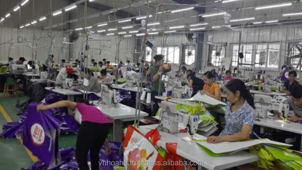 Bopp woven food bag, quality PP woven bag made in Vietnam