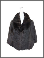 Tasteful and High-grade girl Cashmere Coat with fur collar