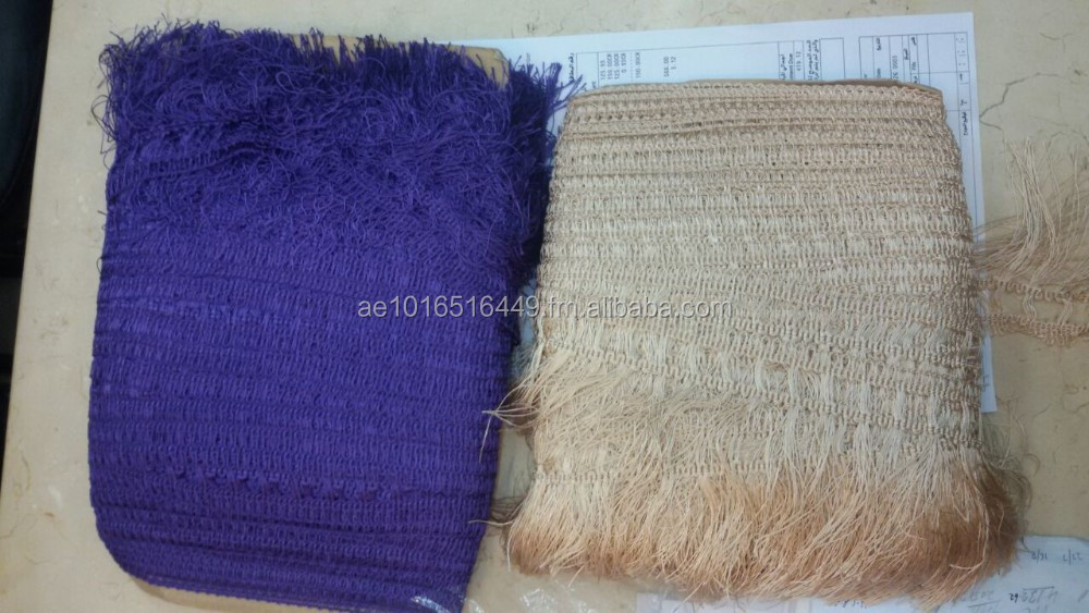 Dyed Rayon Fringes Open Ended 4.5 Inch by 45.72 Metres