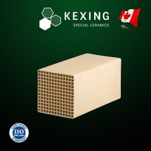 Loose Mullite Honeycomb ceramic Structured Media for RTO RCO