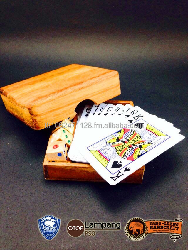 Hot item!!! Wooden toys teaser Card game and Dices