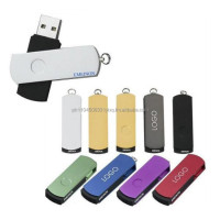 Swivel usb flash drive thumb drive pen drive corporate giveaways gifts