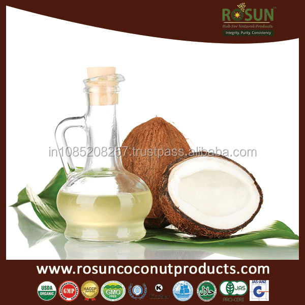 ORGANIC VIRGIN COCONUT OIL in Glass bottle,Virgincoconut oil (VCO)