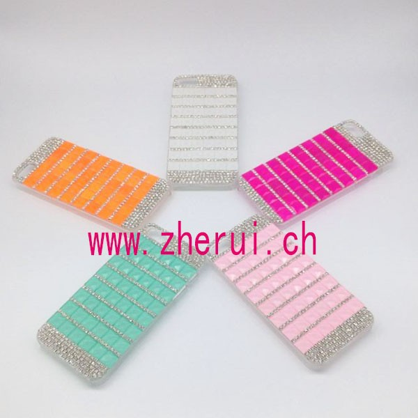 Luxury rhinestone diamond mobile phone covers /cover for smartphone