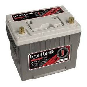 Braille Battery Lithium Intensity Deep Cycle 12 Volt Battery