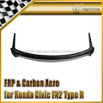 For Honda 07-11 Civic FN2 Type R Seeker Style Rear Spoiler CF