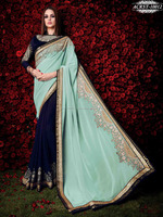 New Design Branded Saree | Bollywood Embroidred Saree