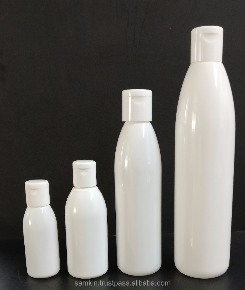 Conical Round PET Bottles 25 to 200 ml