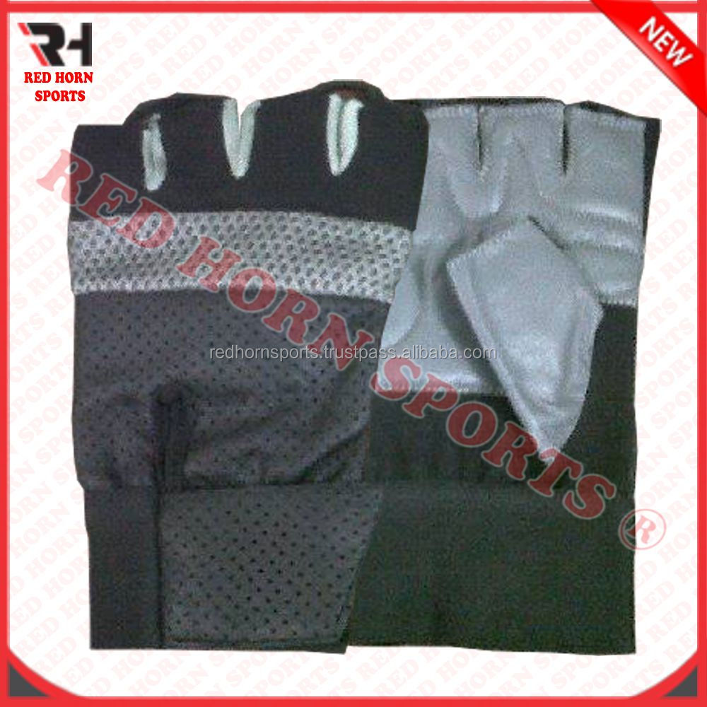 Top Quality Short Finger Racing Gloves, Gel Padded Riding GLoves