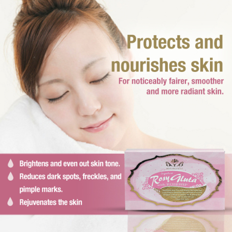ROSY GLUTA WITH ROSEHIP SOAP by BEAUBLENDS