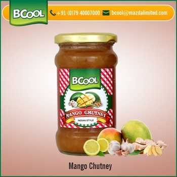 Natural Flavor Rich Aroma Mango Chutney Available at Wholesale Price