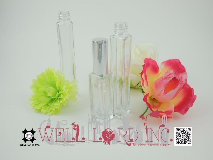 Exquisite product durable glass perfume bottle fantastic 7ml pump sprayer