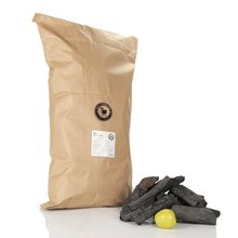 Restaurant Quality Apple, Cherry, OAK, Birch, Beech, Maple, WHITE Charcoal for Grill and BBQ 10kg Bag