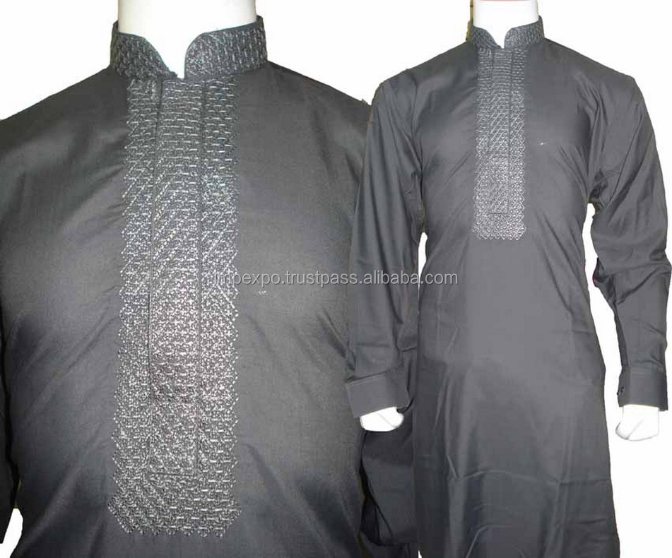 Men embroidered salwar kameez / shalwar kameez design 2016 for men