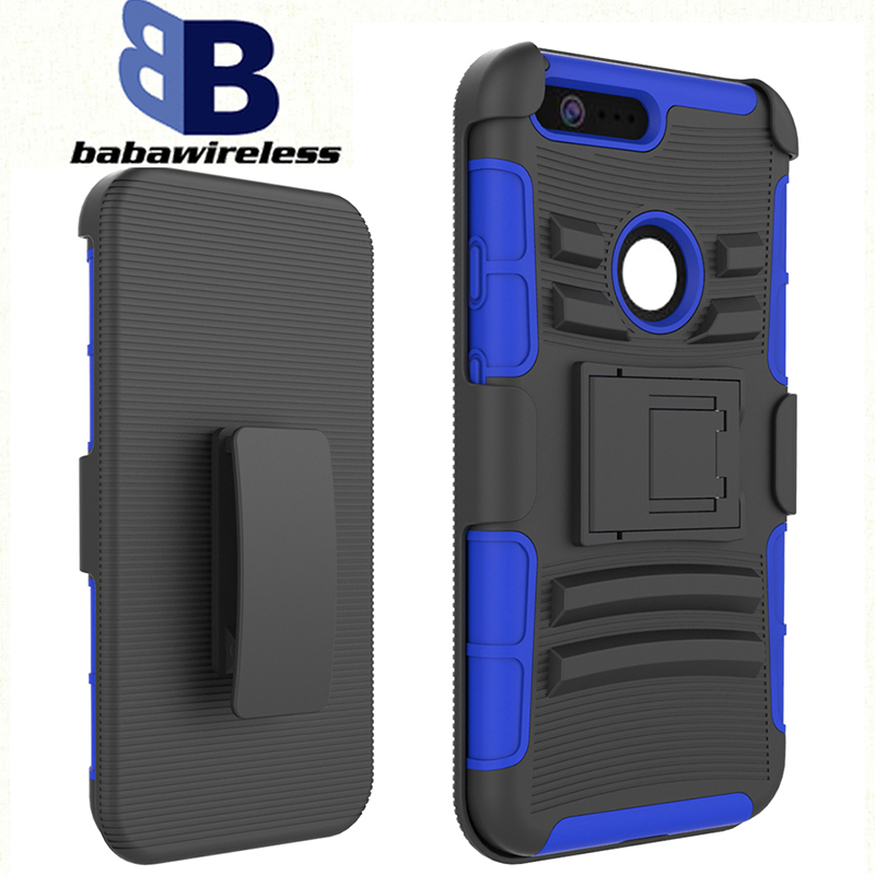 Custom design cell phone case protective hard drop ultra-thin For Google Pixel XL holster