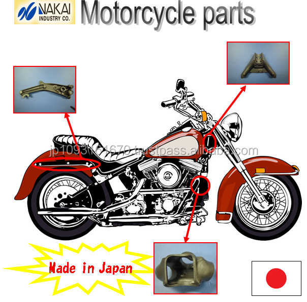 Japanese unique technology motorbike accessories , special shape also possible