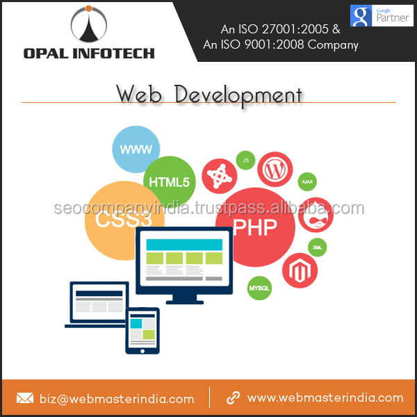 PHP Website Design Use Of The Latest Tools And Technologies