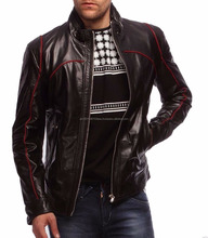 2017 Latest Mens Biker Perfecto Leather Jacket