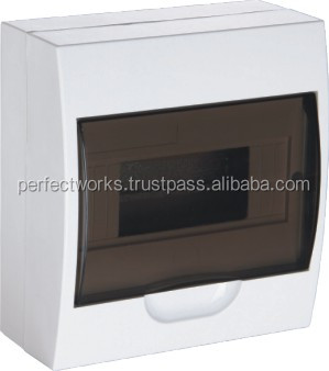 4 6 8 Ways Surface Mount UV Fire Resistance Electrical Distribution Box