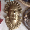 Nigerian Hand Carved bronze Sculptures