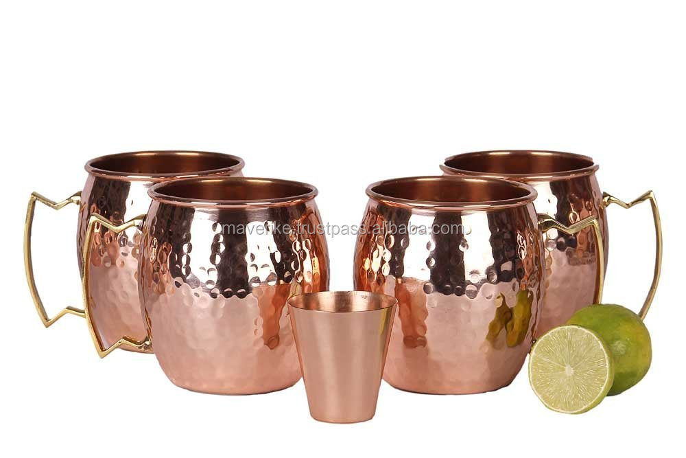 List Manufacturers Of Copper Mugs Set Of 4 Buy Copper