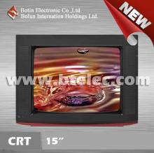 Ultra slim Cheap small-size crt color tv with crt tube