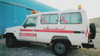 AMBULANCE OFF ROAD TOYOTA