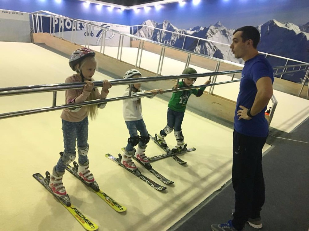 Buy in Venezuela Revovling slopes Proleski skiing simulator Fun indoor training and sports Ski and snowboard on infinite slopes