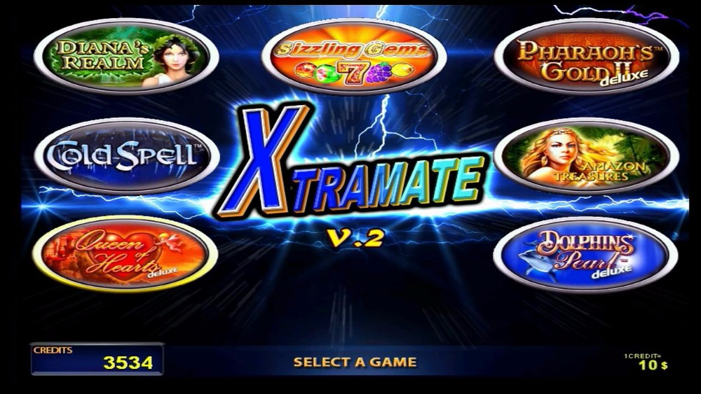 GAMINATOR COOL FIRE 2 Xtramate V2 JACKPOT 7in1
