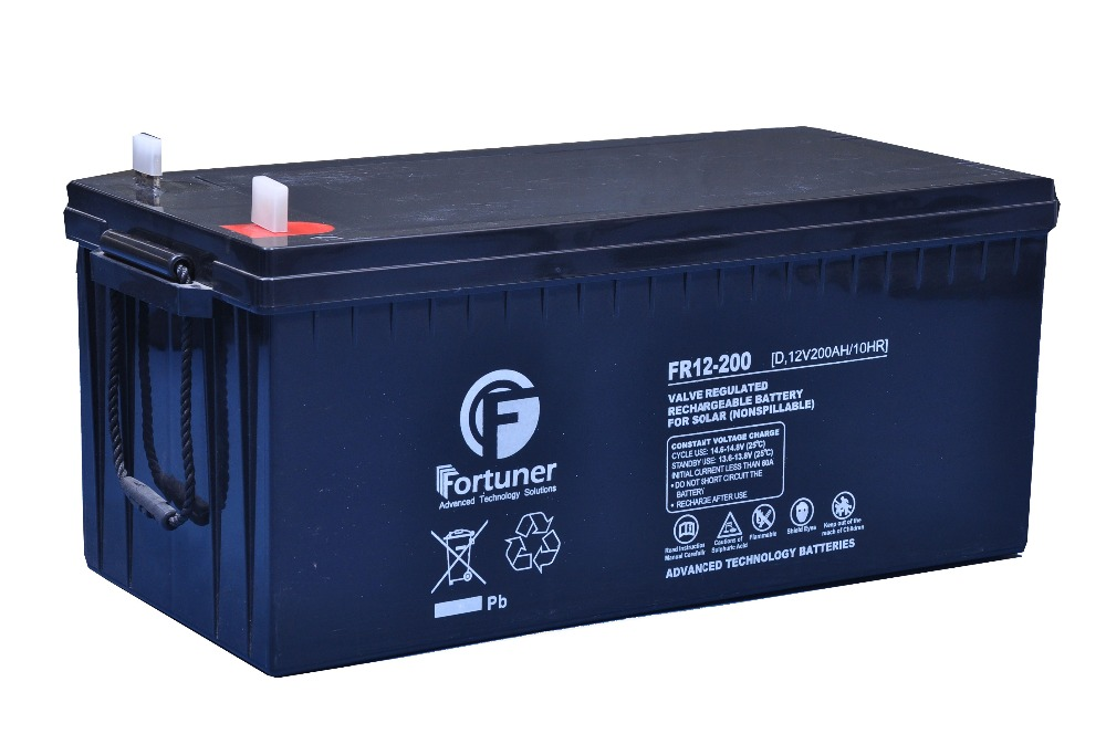 200AH / 12V DEEP CYCLE AGM SOLAR BATTERY