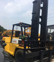 Good Condition Used Forklift 10 tons Komatsu