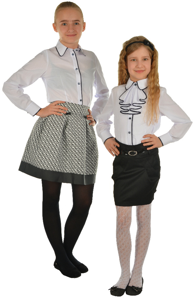 Wholesale Fashionable Youth Shirt White school uniform