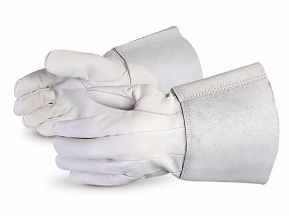 Cow Split long Leather Welding Gloves