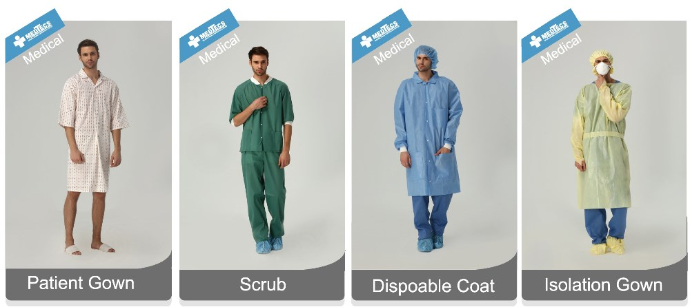 Fashion Anti-bacterial Hospital Health Medical Scrub Uniform