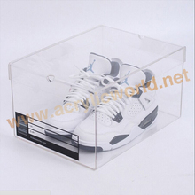 New Design Drop Front Shoe Box / Acrylic Storage Case