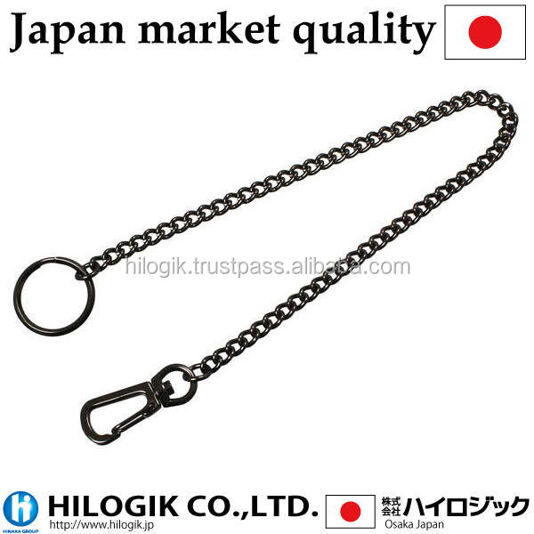 Traditional Black nickel key chain 30cm(No.2)Japanese market of the product